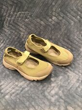 LL Bean Womens US Size 6.5 M  Athletic Comfort Mary Jane Strap Mesh Sneakers EUC