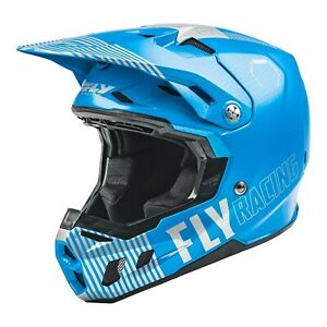 Fly Racing Formula CC Motocross Offroad Race Helmet Primary Blue Grey Adults