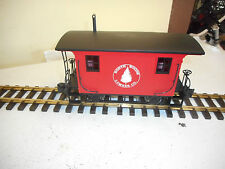 BACHMANN G SCALE LOGGING CABOOSE ,NORTH WOODS LOGGING