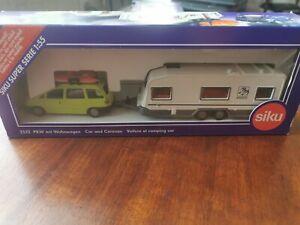 SIKU 2532 PKW mit Wohnwagen 1:55 NEU (OVP)