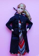 "12"" Ooak Handmade Doll Fashion Set~Fit Royalty Nu Face~Monogram~Fr2"