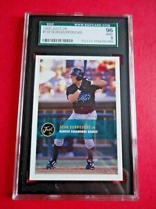 Sean Burroughs, 2000 Just 2k Baseball card # 118, Rancho Cucamonga Quakes SGC 96