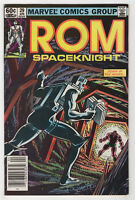 Rom #29 (Apr 1982, Marvel) Spaceknight [Newsstand] Bill Mantlo Sal Buscema X