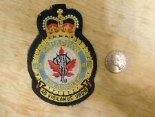Vintage RCAF Royal canadian Air Force Squadron 413 Patch