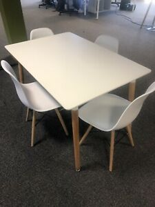 IKEA Rectangular Table And 4 Chairs