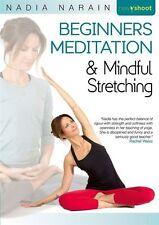 BEGINNERS MEDITATION & MINDFUL STRETCHING DVD NADIA NARAIN NEW SEALED