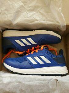 adidas FortaFaito K Blue/White/Orange Kid Running Shoes EE2086 Size 2