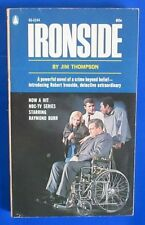 1967 IRONSIDE by Jim Thompson Paperback Popular 1st 60-2244 VG- Raymond Burr TV