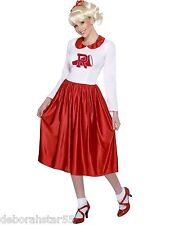 Smiffys Official Vintage Cheerleader Sandy Grease Fancy Dress Costume Size 12-14
