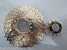 9 Speeds 9S Bicycle Bike Freewheel Cog 11-32T Nickel plated Cassette