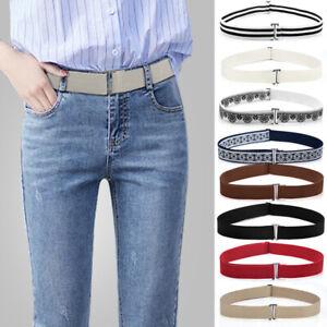 Belts Women Men Stretch Invisible Elastic Waist Belt 1PCS Buckle-Free Waist-belt