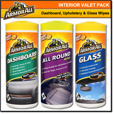 Car & Van Cleaning Wipes Interior Valet Dashboard, Glass & All Round Upholstery