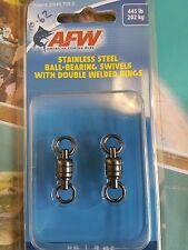 AFW STAINLESS BALL BEARING SWIVEL 445lb / 202kg