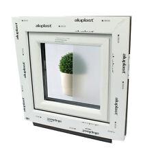 Finestre in PVC Aluplast con vetro OPACO per Bagno!!Apertura a VASISTAS