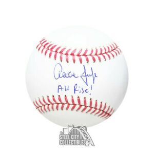 Aaron Judge All Rise Autographed Official MLB Baseball - Fanatics