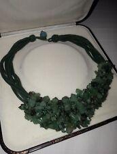 Collana donna Giada verde