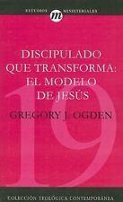 NEW - Discipulado que transforma: El Modelo De Jesus (Spanish Edition)