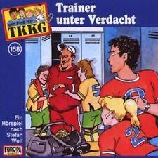 "TKKG ""TRAINER UNTER VERDACHT (FOLGE 158)"" CD HÖRBUCH NEUWARE"