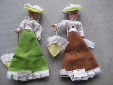 2 poupées anciennes de collection  : Marie et Jeanne