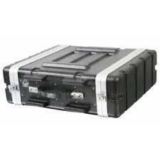 "Pulse 4u 19"" ABS Flight Rack Mount Equipment Case DJ PA Amp"