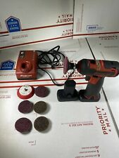 Snap On 14.4v Cordless Polisher / Sander w 2 Battery / Charger Bag New CTPP761A