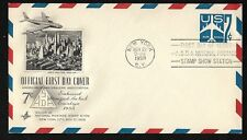 #UC33 7c Blue Jet - Embossed Envelope - Artmaster FDC Stamp Show Station