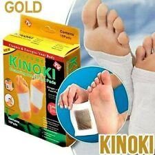 20 x Kinoki Gold Pflaster Vitalpflaster mit Ingwer Entgiftungspflaster Fuß Pads