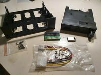 "5.25"" Gotek drive upgrade kit Acorn BBC/Master-FlashFloppy, OLED, Speaker,Rotary"