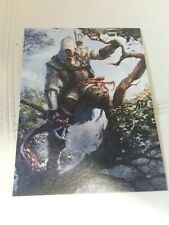 RARE ASSASSINS CREED III REMASTERED A5 LITHOGRAPH ART PRINTS : LIMITED NUMBER