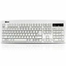QSENN SEM-DT35 Gaming Keyboard EN/KR Layout USB (White)
