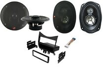 Fits Honda Accord 2003-2007 1-Din Installation Kit With Front And Rear Speakers