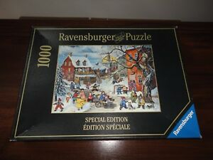 Ravensburger 2005 Puzzle Canadian Artist Pauline Paquin Lots of Fun 1000 pieces