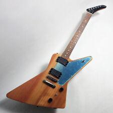 Edwards E-EX-160E Natural E.Guitar Free-Shipping NT New Explorer Type ESP