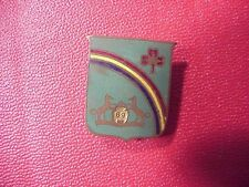 WWII OR PRIOR 69TH REGIMENT DI / DUI INSIGNIA PIN - NAT'L GUARD EQUIP'T CO NYC