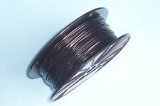 Black Vinyl Coated Wire Rope Cable,1/16 - 3/32, 7x7, 1000 ft Reel