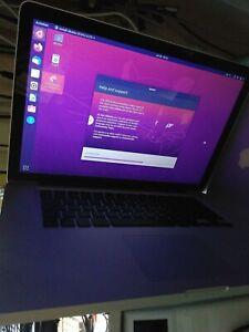 Apple MacBook Pro A1286 GPU Failed, seen working with Ubuntu installed. No PSU.