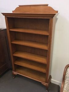 English Oak Bookshelves