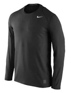 Nike Men's Pro Cool Fitted Long Sleeve Tee Shirt T-Shirt Fitness Athetic 728052
