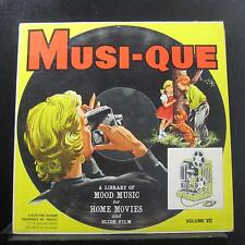 Various - Musi-Que Volume VII Children's Activity Moods LP VG+ BR-1050 Record