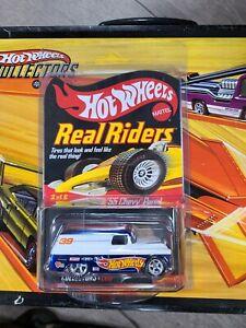MOMC 2007 Hot Wheels RLC Real Riders Series 6  '55 Chevy Panel Truck # 00436