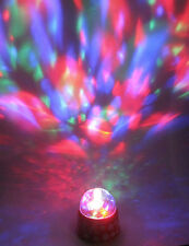 Lightshow Spinning Multi Color Party Lighting Halloween Decoration