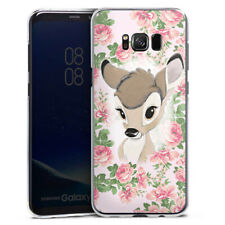 Samsung Galaxy S8 Plus Handyhülle Case Hülle - Bambi Flower Child