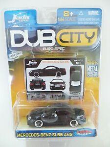 JADA TOYS DUB CITY 'MERCEDES-BENZ SL65 AMG' BLACK. 1:64. EURO-SPEC. MIB/BOXED