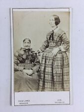 Victorian Carte De Visite CDV: Ladies: West End Photographic Co: 2 of 2