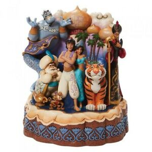 Disney traditions Aladdin carved By Heart Jim shore A Wondrous Place