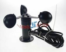 Aluminium Alloyed Wind Speed Sensor Three Cup Anemometer Current 4-20mA output