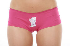 Ladies Tatty Teddy Multipack Shorts 3 Pack Underwear Stretch Cotton Knickers