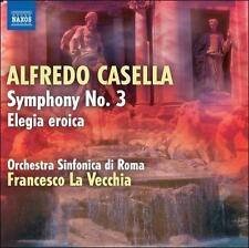 Casella: Symphony No 3, Elegia Eroica, New Music