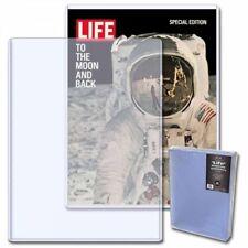 1 Case (50) BCW LIFE Magazine Topload Holder - 11 X 15 x 7MM