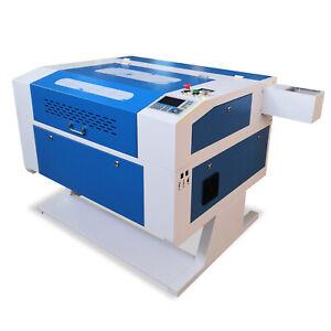80W 700*500mm CO2 USB Laser Cutting Engraving Machine Lsaer Cutter Electric Z
